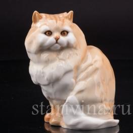 Фигурка из фарфора Персидский кот, Hutschenreuther, Германия, 1970 гг.