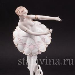 Фарфоровая статуэтка Балерина, Hutschenreuther, Германия, 1920-30 гг.